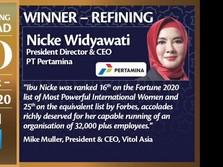 Aramco Trading Nobatkan Nicke Widyawati Sebagai Top CEO 2020