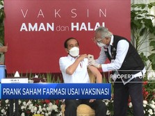 Prank Saham Farmasi Usai Vaksinasi