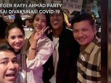 Geger Raffi Ahmad Party Usai Divaksinasi Covid-19