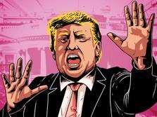 Sah! DPR AS Memakzulkan Trump Jelang Lengser