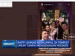 Istana Tegur Raffi Ahmad Nongkrong Tanpa Masker Usai Divaksin
