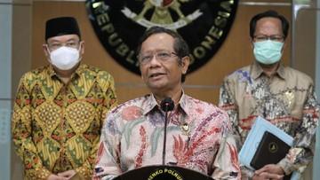menteri koordinator politik hukum dan keamanan menkopolhukam mahfud md 1 169