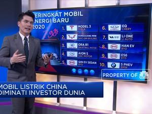 Mobil Listrik China Diminati Investor Dunia