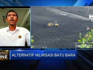 Gasifikasi Batu Bara Hasilkan 15% Bahan Baku Anoda Baterai