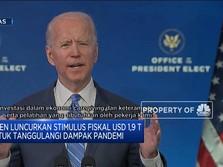 Biden Kucurkan Stimulus Jumbo untuk Menanggulangi Pandemi