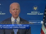 Biden Luncurkan Stimulus Fiskal USD 1,9 T