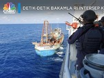 Detik-detik Bakamla RI Intersep Kapal China!