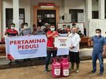 Longsor Sumedang, Pertamina Berikan Bantuan LPG & BBM