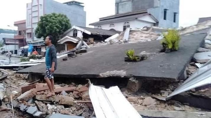 Gempa di Sulawesi Barat (ist)