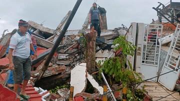 Dampak Gempa Majene 8 Orang Meninggal 637 Luka Luka