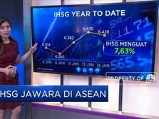 IHSG Jawara di ASEAN