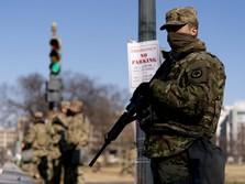 Washington 'Lockdown', 21.000 Militer Turun Amankan Ibu Kota