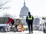 Potret Washington yang 'Lock Down' Jelang Pelantikan Biden