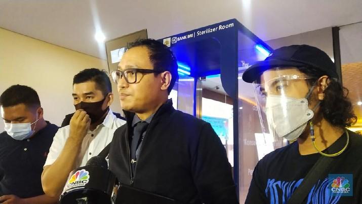 Personel band nidji korban Jouska (CNBC Indonesia/ Monica Wareza)