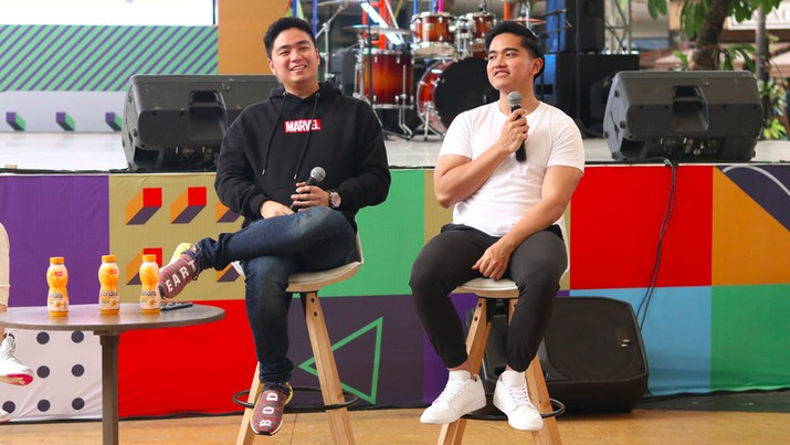 Anthony Pradiptya & Kaesang/Dok GK Hebat