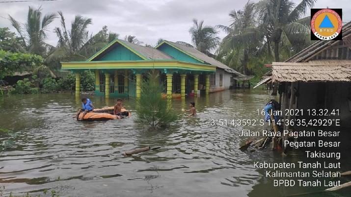 Banjir di Kalimantan Selatan (ist/BNPB)