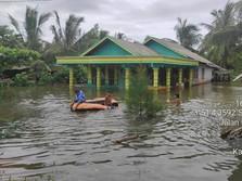 7 Kabupaten Terendam, Ini Update Banjir yang Lumpuhkan Kalsel