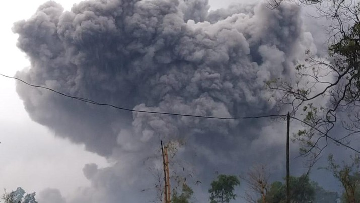 Gunung Semeru Kembali Keluarkan Awan Panas Guguran Sejauh 4,5 Kilometer (Dok. BNPB)