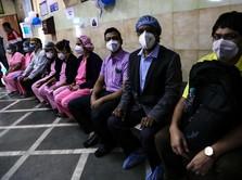Corona Ngamuk Lagi di India, Kasus Baru 'Meledak' Cetak Rekor
