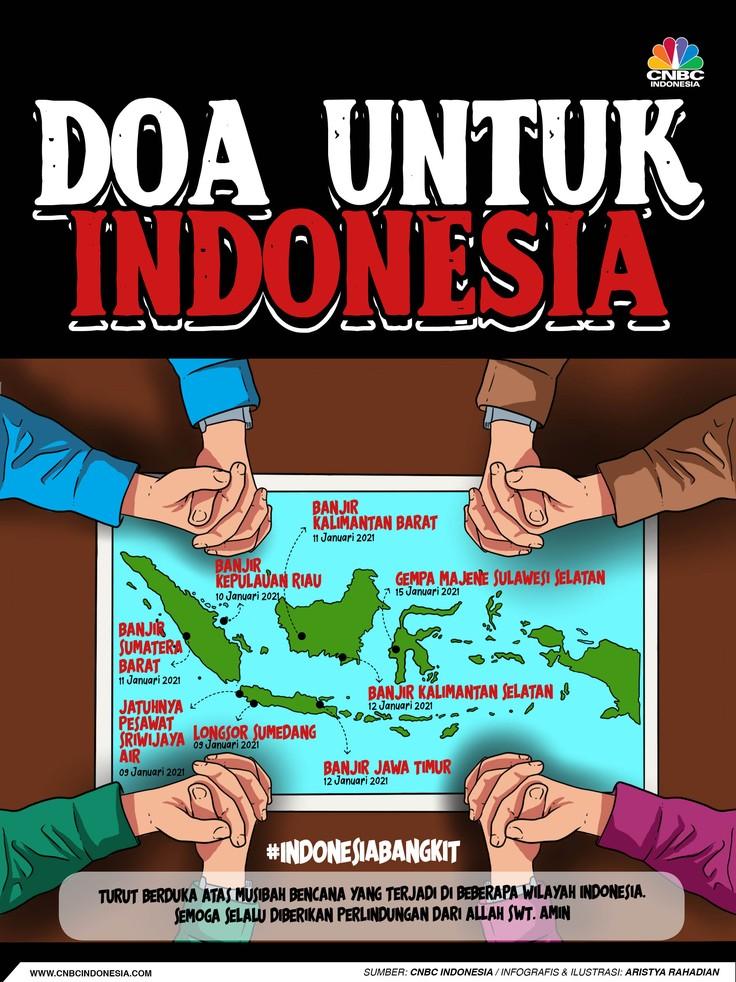 Infografis/Doa Untuk Indonesia/Aristya Rahadian