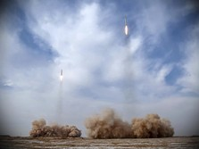 Biden Ngamuk, Milisi Iran Dibombardir Rudal dari Langit