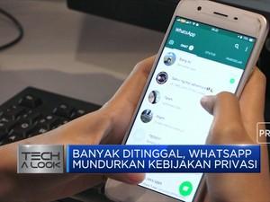 Banyak Ditinggal, Whatsapp Mundurkan Kebijakan Privasi