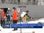 Basarnas Temukan Bagian Tubuh Korban Sriwijaya SJ 182