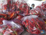 Waduh... Harga Cabai Masih Pedas di Pasar Kebayoran Lama