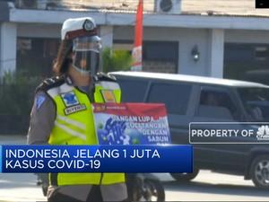 Indonesia Jelang 1 Juta Kasus Covid-19