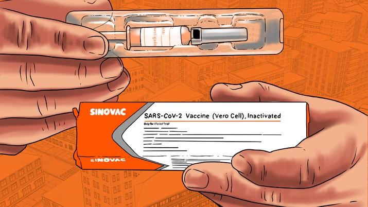 Infografis/Lawan Covid-19!, Ini Daftar Negara yang beri izin gunakan vaksin Sinovac/Aristya Rahadian