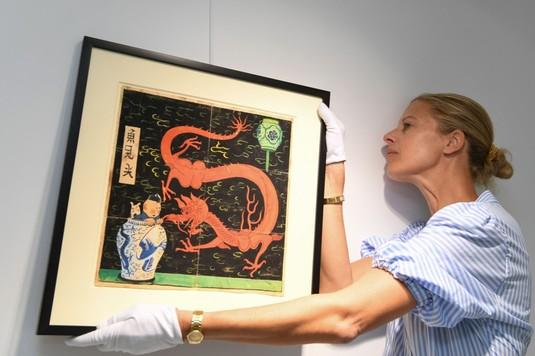 Gokil! Lukisan Tintin Terjual Rp 66 Miliar