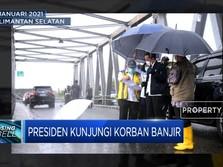 Presiden Kunjungi Korban Banjir Kalimantan Selatan