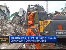 Update Korban Gempa Sulbar: 81 Meninggal Dunia