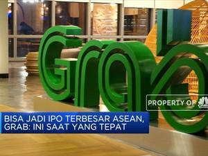 Dikabarkan IPO di Wall Street, Grab Incar US$ 2 Miliar