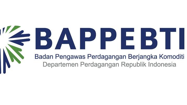 Logo Badan Pengawas Perdagangan Berjangka Komoditi (Bappebti)