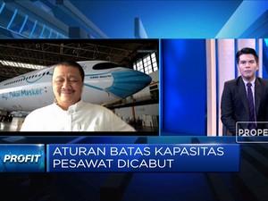 Penuh Optimisme, Garuda Targetkan Pendapatan 2021 Naik 50%