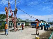 97% Gardu Listrik PLN Terdampak Gempa di Sulbar Telah Menyala