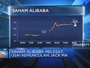 Saham Alibaba Melesat, Usai Kemunculan Jack Ma