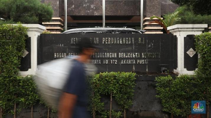 Ilustrasi Badan Pengawas Perdagangan Berjangka Komoditi (BAPPEBTI). (CNBC Indonesia/Andrean Kristianto)