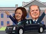 Siaga Darurat Negeri Paman Sam Jelang Pelantikan Biden-Harris