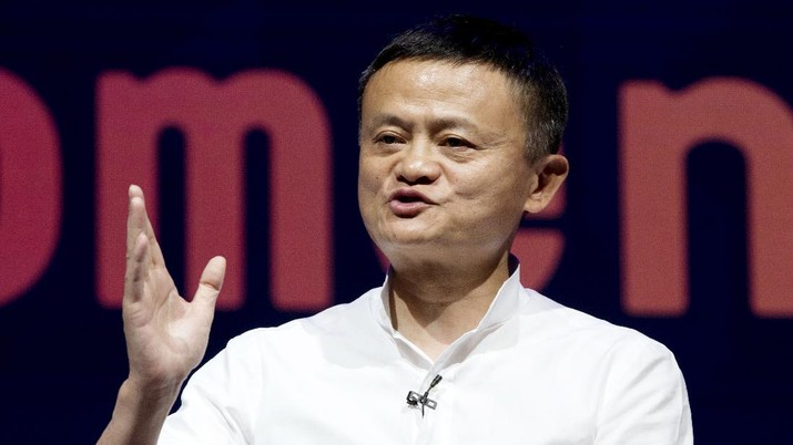 Jack Ma. (AP/Firdia Lisnawati)