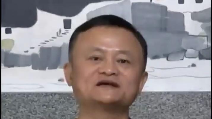 Jack Ma. (Dok: Tangkapan layar Twitter Qingqing_Chen)