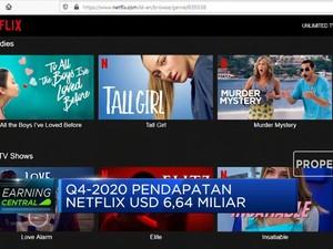 Netflix Gapai 200 Juta Pelanggan