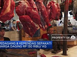 Pedagang & Kemendag Sepakati Harga Daging Rp 130 Ribu/Kg