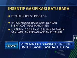 Pemerintah Siapkan 3 Insentif Untuk Gasifikasi Batu Bara