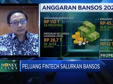 Penyaluran Bansos Lewat Fintech, Infrastruktur Jadi Tantangan