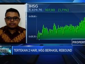 Menguat 1,71%, IHSG Ditopang Sektor Tambang & Perbankan