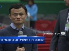 Setelah Dikabarkan Menghilang, Jack Ma Comeback!