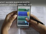 Catat! Nadiem Bagikan Kuota Internet Gratis Sampai Mei 2021