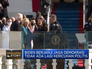 Detik-Detik Pelantikan Biden sebagai Presiden AS Ke-46